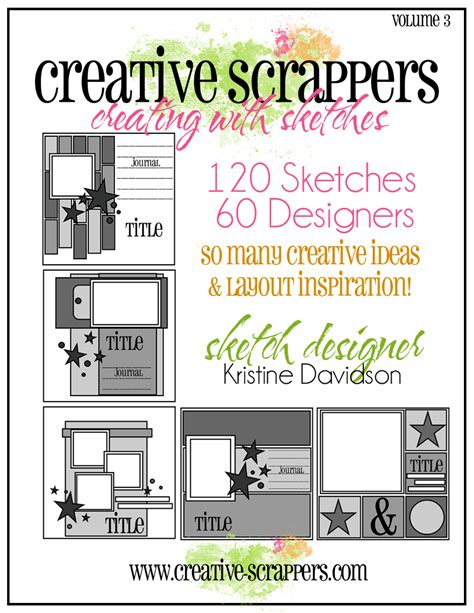 Sketches Ebook by Creative Scrappers Ebook Of Sketches