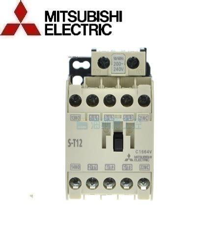 Contactor S T12 Mitsubishi kh盻殃 苟盻冢g t盻ォ 3 pha mitsubishi s t12 ac200v c譬 苣i盻 h蘯 i 194 u