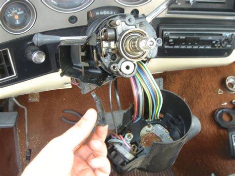 details  gm tilt steering column parts set   ignition bowl