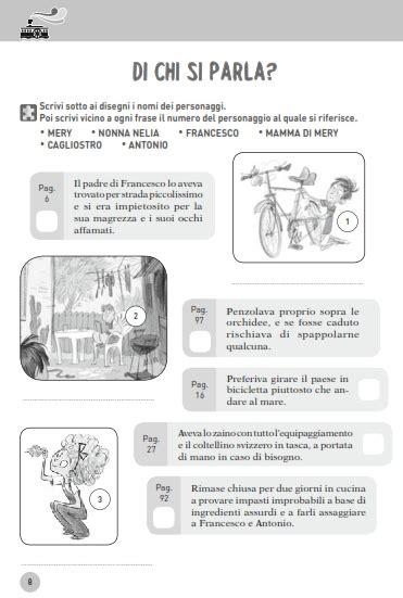 esercizi testo descrittivo comprensione testo scuola primaria e media schede