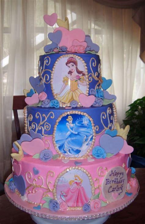 childrens birthday cakes disney princesses cake       aubrie