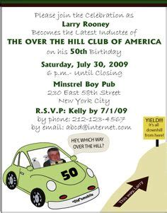 Fifty 50th Birthday Invitation Templates Diy Printable Template And Easy To Edit In Word The Hill Birthday Invitation Templates