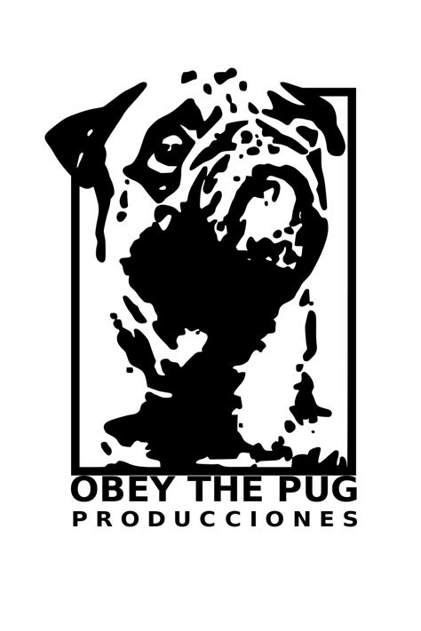 pug logo obey the pug by pigweeping on deviantart