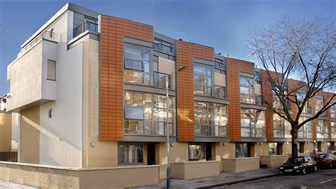 Contemporary Housing a21 architects 14 terraced houses islington