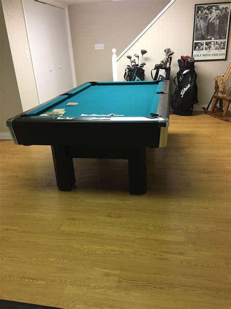 brunswick 3 slate pool table 7 brunswick billiards black 3 slate sold