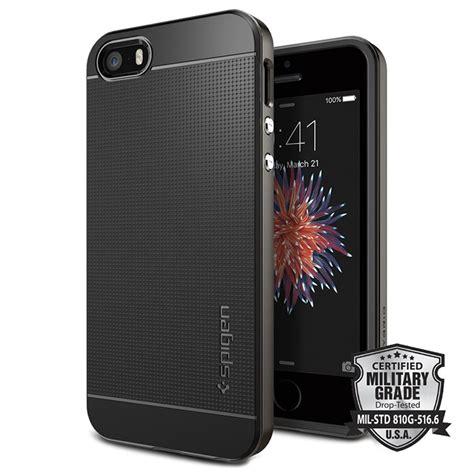 Cover Spigen Iphone 5 5s iphone 5 5s se spigen neo hybrid gunmetal