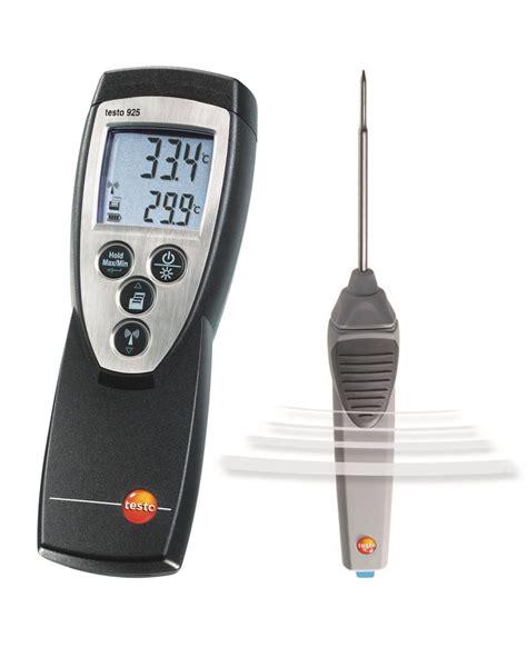 on testo testo 925 temperaturmessger 228 t tauch einstech messung