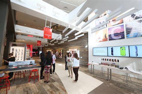 home design store santa monica verizon wireless opens fifth u s destination store in