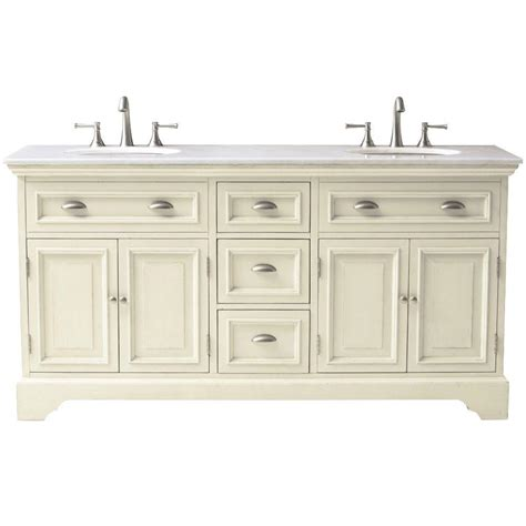 Home Decorator Vanity | home decorators collection sadie 67 in double vanity in