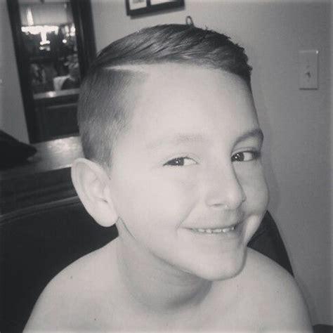 hard part boy cut hard part undercut style kidsnips haircuts for