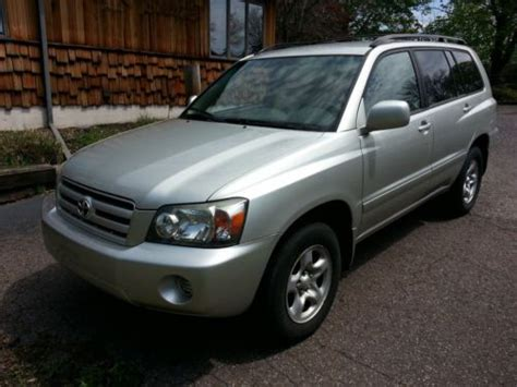 auto air conditioning service 2005 toyota highlander parental controls purchase used 2005 toyota highlander 4wd suv in pottstown pennsylvania united states