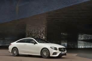 E400 Mercedes 2018 Mercedes E400 Coupe Front Three Quarter 03