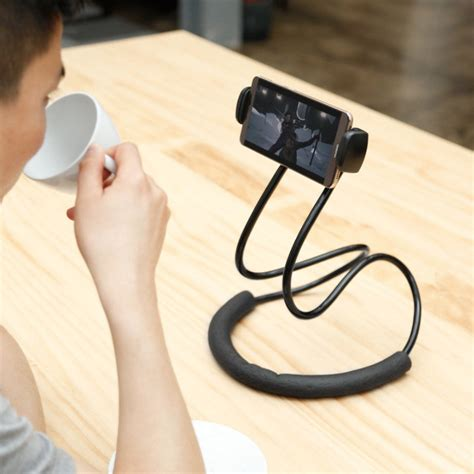 lazy neck phone tablet holder live deals