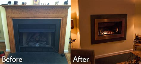 Fireplace by Fireplace Installations Charlottesville Richmond Va