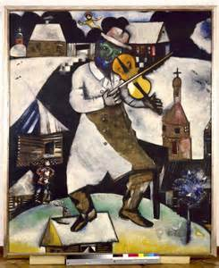 Marc chagall the french painter who inspired the title fiddler on