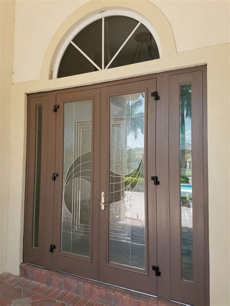 Hurricane Impact Sliding Glass Doors Cost Impact Doors Photo Gallery Hurricane Resistant Patio Doors Impact Windows Custom Entry Doors