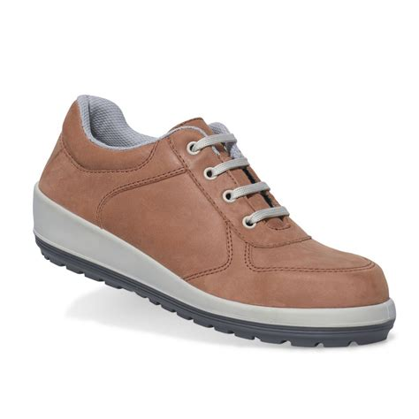 womens safety shoes parade footwear brava brick leather womens casual s3