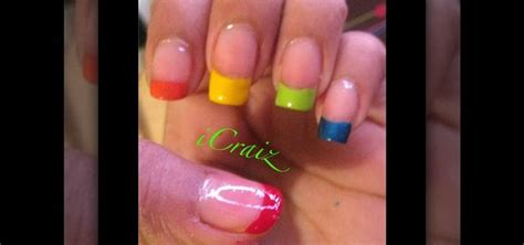 acrylic paint nail tips can i paint tip acrylic nails great photo