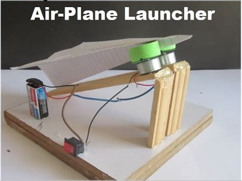 How To Make A Paper Launcher - how to make a paper airplane launcher at home fast and