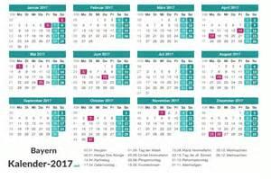 Kalender 2017 Feiertage Kalender 2017 Bayern
