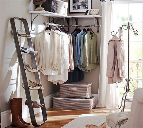 New York Closet Shelves new york shelf clothes rack pottery barn these for when you don t a walk in closet