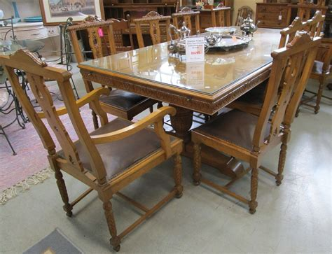 dining room table leaf covers used furniture gallery