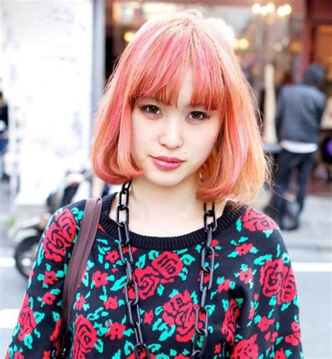 popular hair colour for korean short hair color ideas pictures short hairstyles 2017