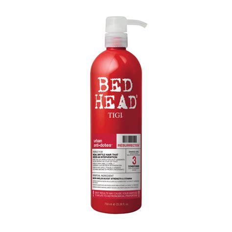 tigi bed head products tigi bed head urban antidotes resurrection conditioner