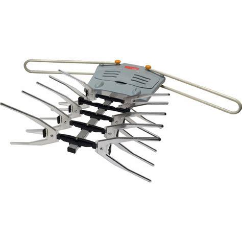 boostwaves premium hdtv digital outdoor antenna rotation high band range