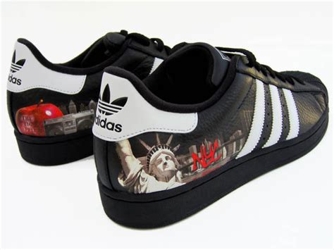 Handmade Shoes New York - sole custom sneakers new york adidas superstar