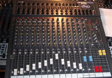 Mixer Soundcraft Fx 16 soundcraft spirit fx 16 image 631493 audiofanzine