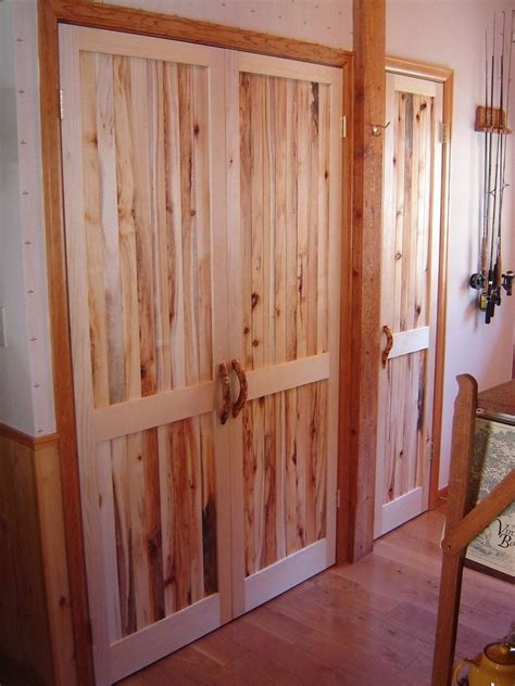 custom made closet doors crafted closet doors by sentinel tree woodworks