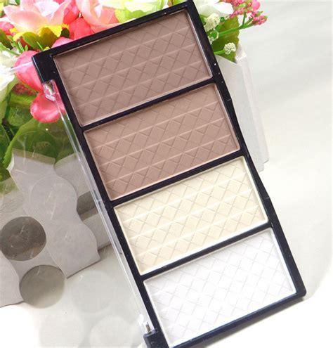 Highlight And Powder 24 Colour makeup 4 colors pressed powder highlight contour shading
