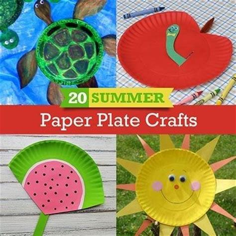 Paper Plate Crafts For Summer - 186 best images about summer on bingo