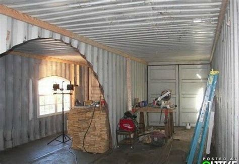 redneck shipping container house inhabitat green