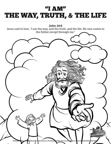 coloring page jesus is the way 110 best images about top sunday school coloring pages