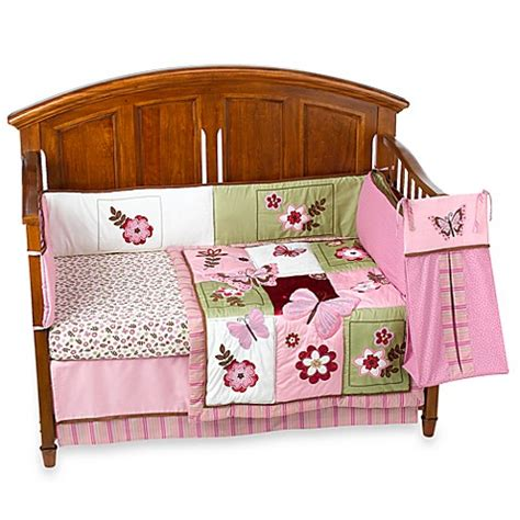 nojo crib bedding emily 6 piece crib bedding by nojo 174 bed bath beyond