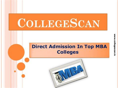 Direct Admission In Mba Colleges by Direct Admission In Top Mba Colleges