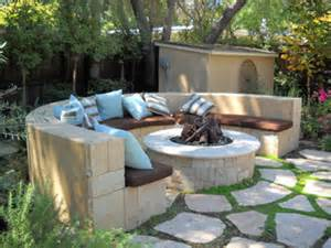 Diy Backyard Fire Pits Laurie Callaway Garden Design