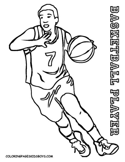 coloring pages of basketball players of the nba smooth basketball coloring pages basketball free men