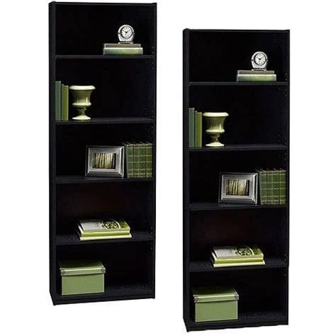 White Decorative Bookshelves Or Bookcases Ameriwood 5 Shelf Bookcase White