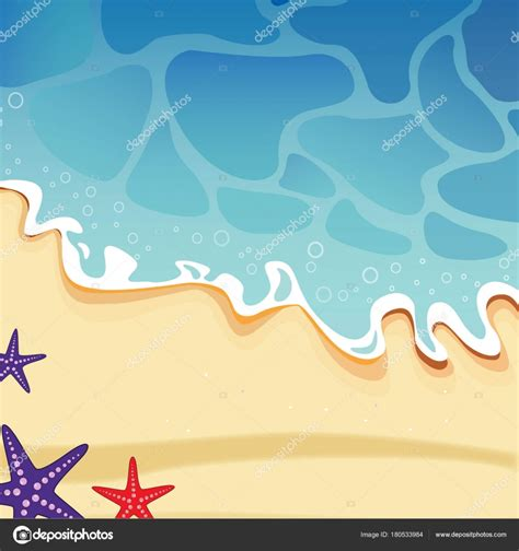spiaggia mare clipart vettoriali vettoriali stock