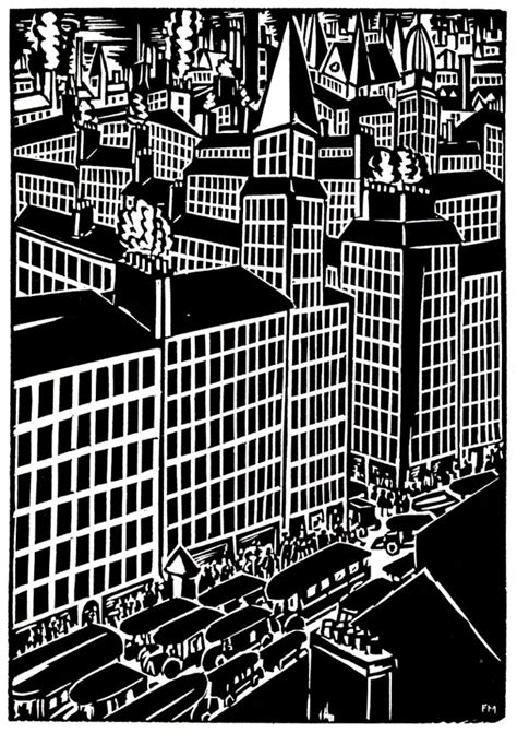 the city a novel frans masereel mosiac floor page
