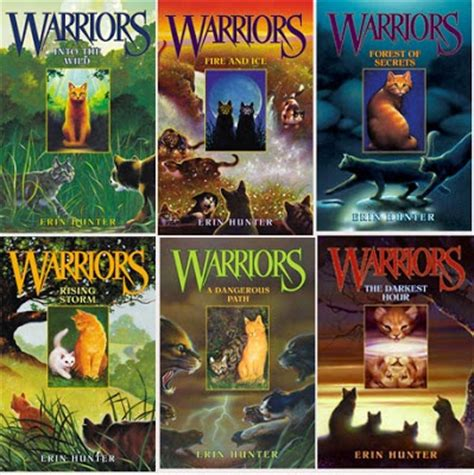 the series of warriors by erin i didn t