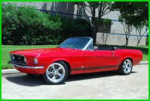 1968 ford mustang restomod convertible for sale photos