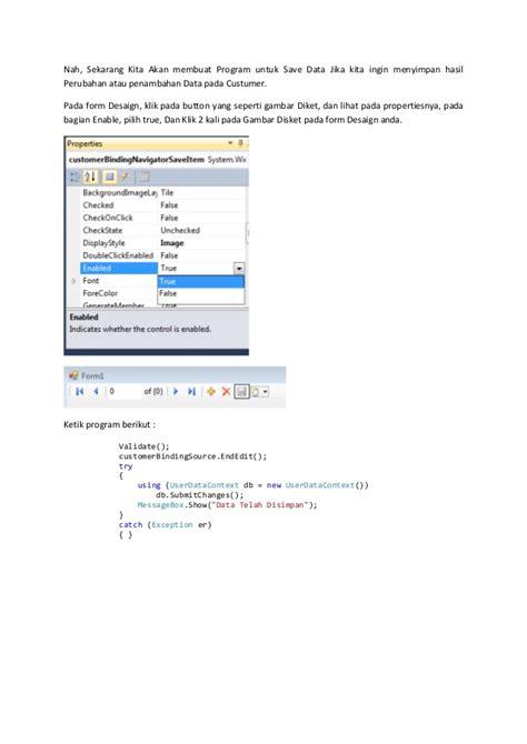 membuat aplikasi database dengan xp membuat aplikasi database dengan windows form application