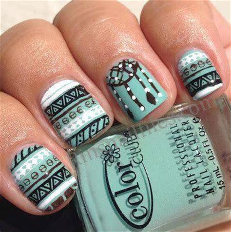 aztec pattern nail art todos aman a pepina mayo 2013