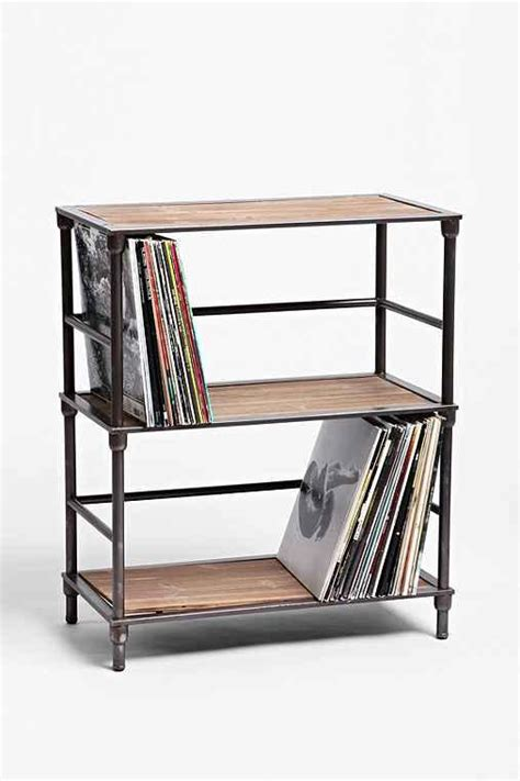 Vinyl Storage Shelf  Urban Outfitters   Space