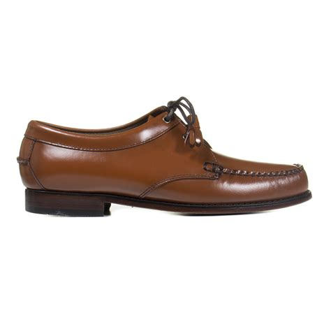 bass shoes g h bass shoes sewn tie tassel loafer in brown