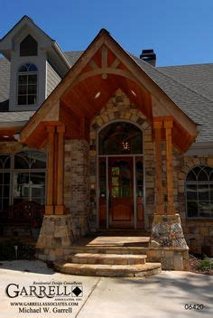 adirondack lodge house plan house plans by garrell 1000 images about entrance ways on pinterest stone